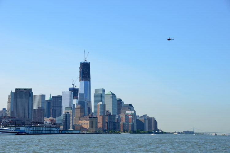 Few people realize that great fishing for stripers and blues exists in the shadow of New York City's skyscrapers.