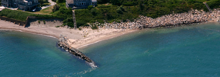 If you can find legal access, there are many great jetties all around the island of Martha's Vineyard.